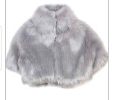 kate mack girls faux fur gilet coat size 5 bnwt, party, wedding