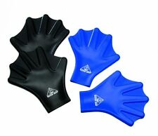 Water Gear Silicone Force Gloves Large/black