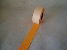 10x1500 Preisetiketten 26x12mm Etiketten leucht orange