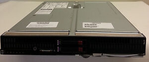 HP BL685c G5 4x Quad Core 2.7GHz 2x 146GB 10K SAS drives 64GB RAM Blade server