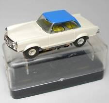1960s Faller MERCEDES 230 Slot Car WH/BL UNRUN HO BOXED
