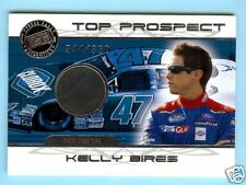 2008 PRESS PASS TOP PROSPECTS KELLY BIRES RACE USED TIRE #244/330