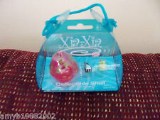 Xia-Xia Pink with Designs Collectible shell and 2 little friends New Htf