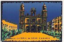 Vintage Postcard - La Catedral de Gran Canaria - Unposted 0279