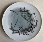 Wifredo Lam Ceramic. Signed and  catalogued (Wilfredo Lam Cuban Art)