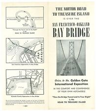 1939 Drive in Private Car on Bay Bridge & Tunnel to SF Golden Gate Inter Expo