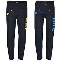 Boys Stretchy Jeans Designer Kids HNL Denim Skinny Jean Pants Trousers 5-13 Year