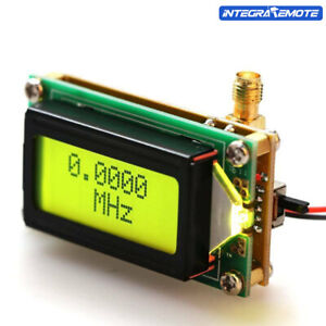 High Accuracy RF 1-500 MHz Frequency Counter Meter Module For Ham Radio Kit