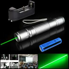990miles Green Laser Pointer Pen Astronomy Light Beam Torch Rechargeable Lazer