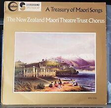 New Zealand Maori Theatre Trust Chorus - A Treasury Of Maori Songs - LP record