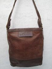 AUTHENTIQUE  sac à main  vintage LANVIN  cuir  BEG   bag 70's *