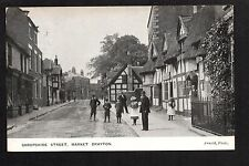Market Drayton - Shropshire Street - printed postcard