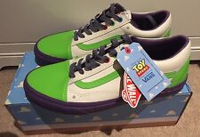 BNIB Toy Story Vans Buzz Lightyear Old Skool UK 9 EU 43 US 10 Men's NEW Ltd Ed