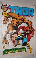 THOR N 6 LA MINACCIA DELLA SUPER BESTIA 1982 Fumetti Collezionismo Ragazzi di e