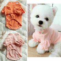 Pet Dog/Cat Warm Fleece Vest Clothes Coat Puppy Shirt_Sweater Winter-Apparels