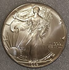 1992 American 🇺🇸 Eagle Walking Liberty 1oz Silver Bullion Dollar UNC