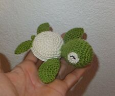 Sea Turtle - handmade crochet baby toddler children toy
