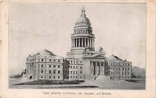 Boise Idaho The State Capitol~Household Post Card Club Topeaka Ks Postcard 1908
