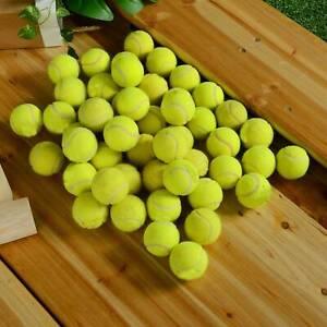 50PCS UNUSED NEW TENNIS BALLS FOR KIDS, DOGS, BACKYARD GAMES TRAINING ETC AU