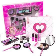 Kid's Girl Cutipie Cosmetics Premium Pretend 15 Piece Makeup Set Brand New