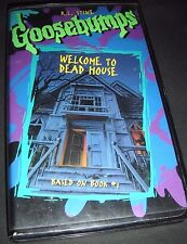 Goosebumps - Welcome to Dead House (VHS, 1997)