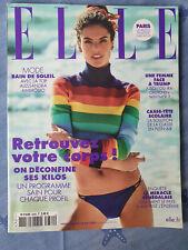 Magazine ELLE n°3884 du 29 mai 2020 Alessandra Ambrosio mode bain de soleil TBE