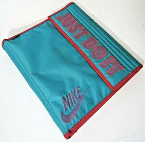Nike JUST DO IT! Mead 3 Ring Binder 1994 Vintage Rare Blue 90's School Notebook