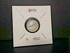 5cent king george v-- vfine 1935