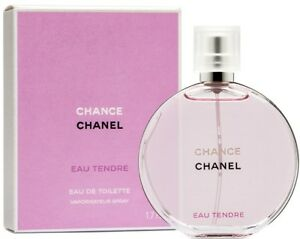 CHANEL CHANCE Eau Tendre EDT Fragrance for Women 5.oz/150ml Sealed Authentic