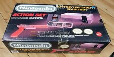 Nintendo Entertainment System NES Console System W/ Original Box Action Set Used