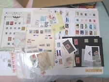 CLEAN OUT THE WAREHOUSE  GROUP M&U STAMPS, PACKETS, ALBUM SELECTIONS, 102 CARDS