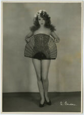 Original 1920s German Atelier Binder Risqué Glamour Photograph Lili Damita