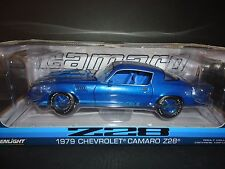 Greenlight Chevrolet Camaro Z28 1979 Blue 1/18 Limited Edition