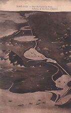 EGYPT - Port Said - Plan du Canal de Suez - Scheme of the Suez Channel