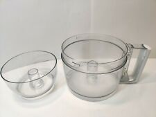 KitchenAid Food Processor KFP600 Replacement Work Bowl 11 cup w/ Mini Work Bowl