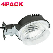 4 Pack 75W Led Yard Light with Photocell-Ip65 for Outdoor Wall-Garage/ Farm