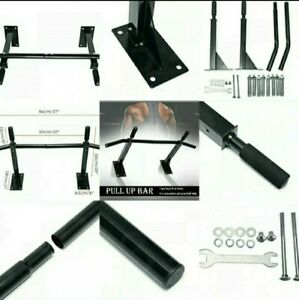 Heavy Duty Pull up bar kit. Gym Workout Back Muscles Free Next Day Delivery