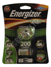 Energizer Vision HD+ LED Headlight & AAA Batteries (200 Lumens) [HEAD200]