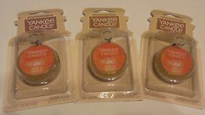 Lot 3 Brand New YANKEE CANDLE SUN & SAND CAR JAR ULTIMATE Tropical