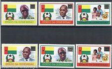 GUINEA BISSAU FLAGS SET SC#354/59 MINT NH