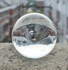 40mm (2 inch) Magic Crystal Ball with Free Stained & Polished Balsa Wood Stand