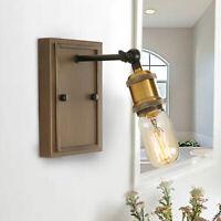 Industrial Wall Sconce Rustic Bathroom Wall Light Fixture Edison Wall Lamp