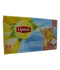 Lipton Iced Tea 24 x Gallon Size Tea Bags 680g