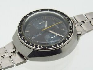 Vintage Seiko Bullhead Chronograph 6138-0040 automatic watch