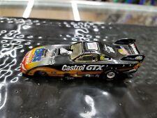 NHRA - JOHN FORCE - ELVIS - CASTRO GTX FORD FUNNY CAR - 1:64 CAR w/CARD- WC1998