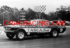 "Bill Lawton ""Tasca Ford"" ""Mystery 9"" 1966 Ford Mustang NITRO Funny Car PHOTO!"