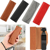 PU Leather Carry Bag Storage Case Hand Pouch for DJI OSMO Pocket Video Strap YUE