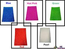 Color Glitter Foam Sheet Pearl Blue Green Red Pink DIY Art Craft School Project