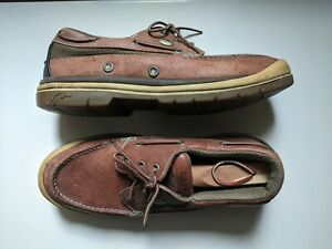Irish Setter Red Wing Kenora Mens Oxford Boat Leather Shoes Brown Size 12
