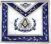 Master Mason Masonic Apron with Embroidered Border -
